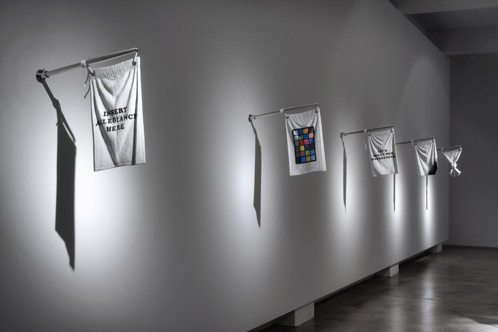 Flags,  Sullivan + Strumpf, Sydney, 1 - 19 November 2011 (installation view)