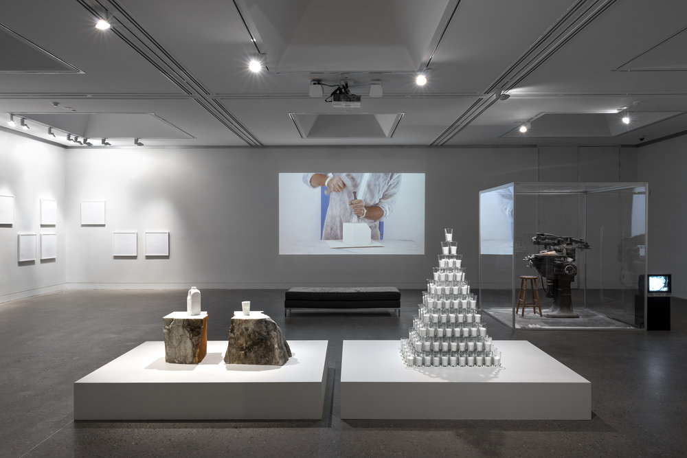 Roughing Out,  Hazelhurst Regional Gallery & Arts Centre, Sydney, 31 August - 13 October 2013 (installation view).