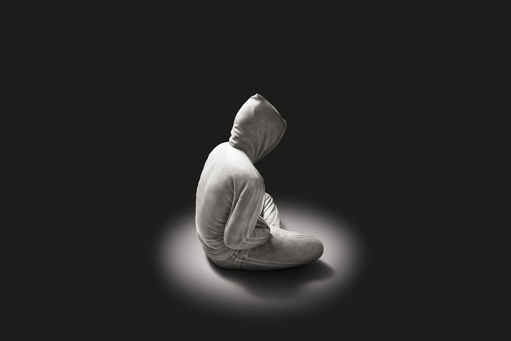 Soloist  2012, Biano Carrara marble, 95 x 75 x 70 cm