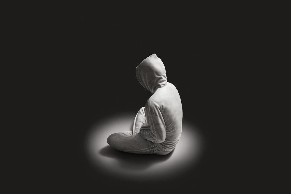Soloist  2012, Bianco Carrara marble, 95 x 75 x 70 cm