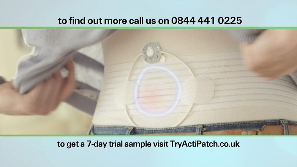ActiPatch DRTV commercial