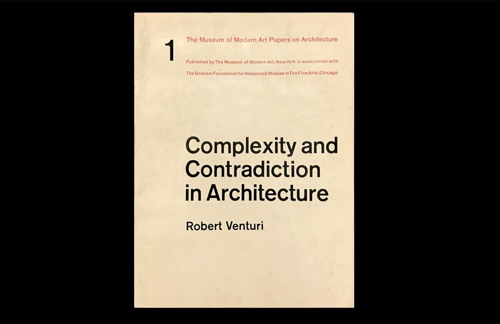 Complexity and Contradiction in Architecture after fifty years
