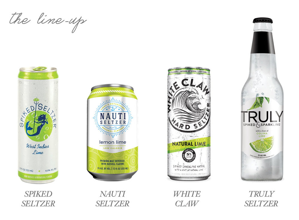 Alcoholic seltzer which brand is best lipstick limes for Sparkling water mixed drinks