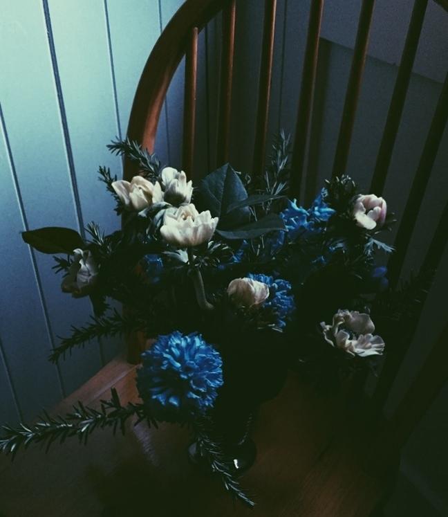 AESME Blog | anemone and hyacinth arrangement