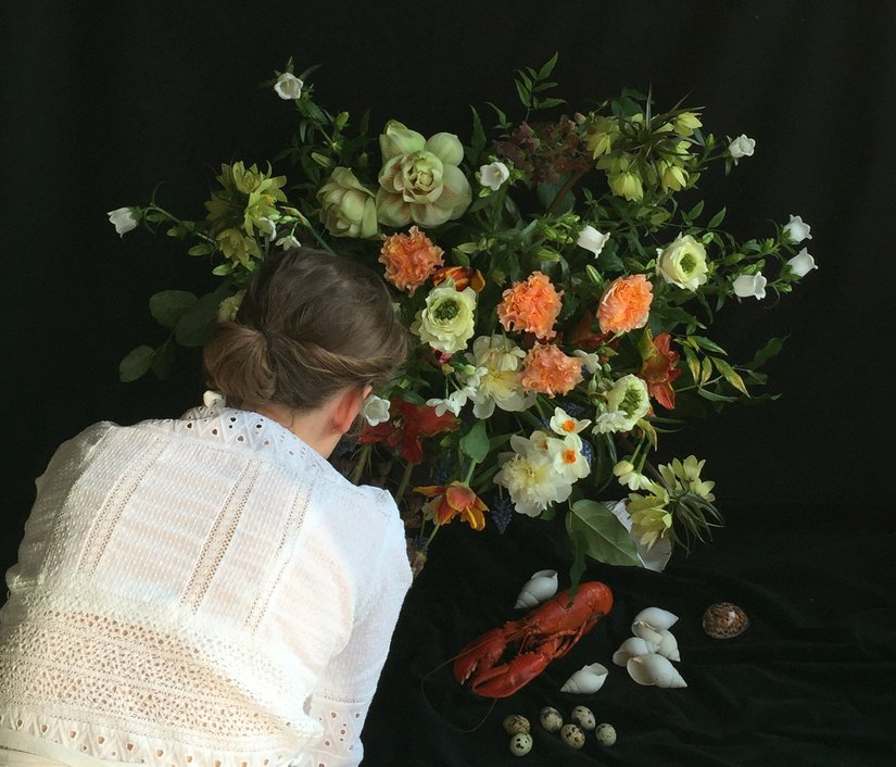 AESME Blog | dutch masters inspired floral arrangement