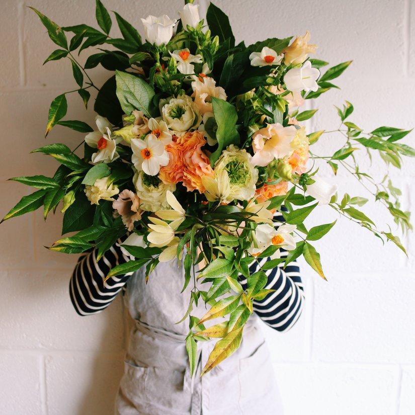 AESME Blog | spring bridal bouquet