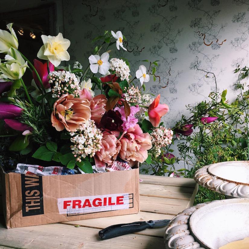 AESME Blog | may flowers in the studio