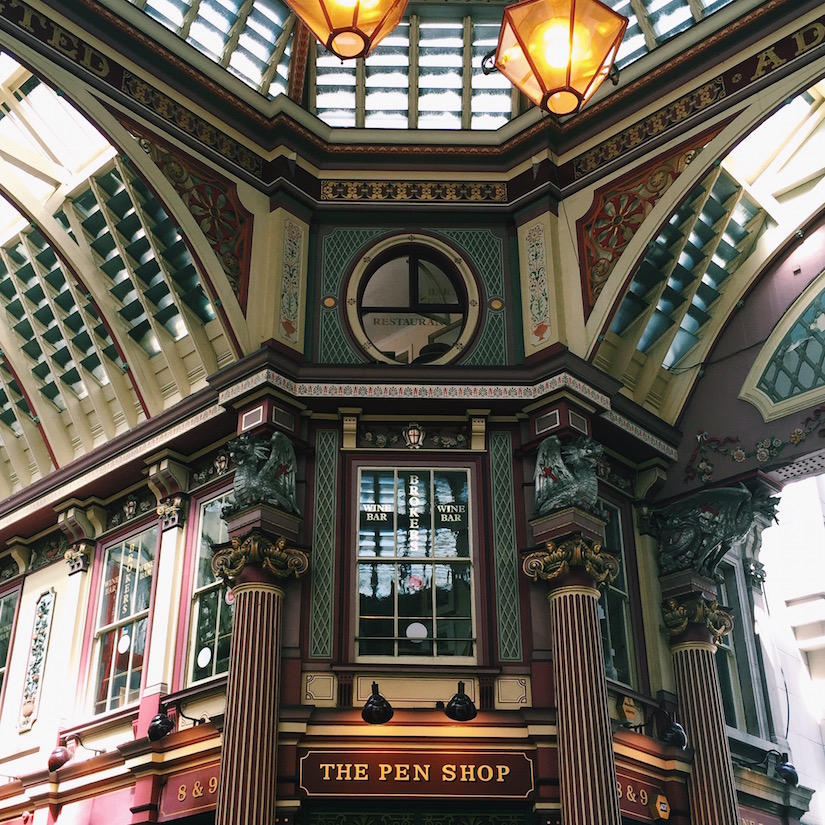 AESME blog | Leadenhall Market, London