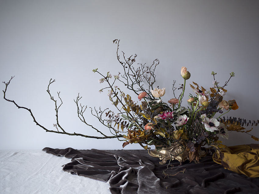 AESME blog | winter floral arrangement