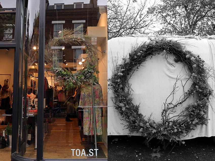 AESME wreaths for TOAST