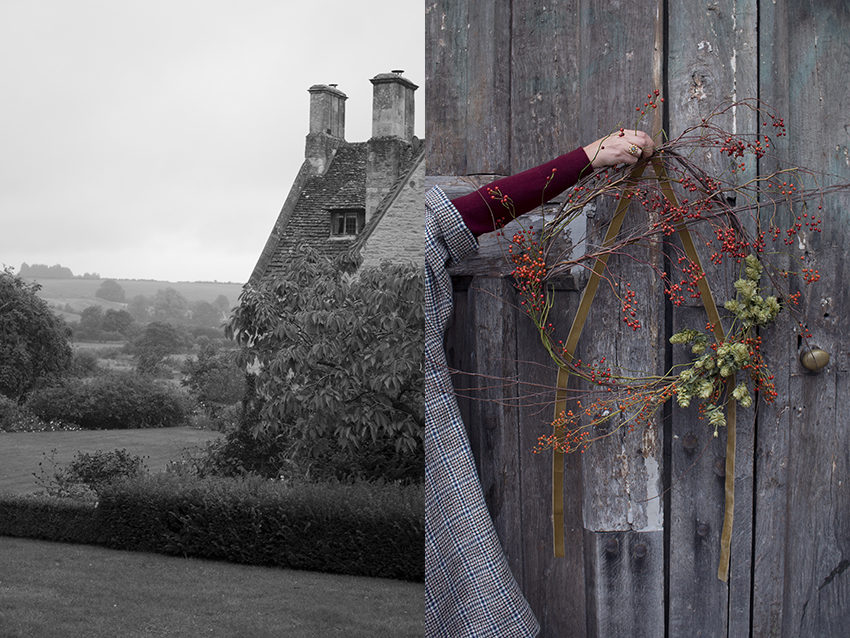 AESME Festive Wreath Workshop | Asthall Manor