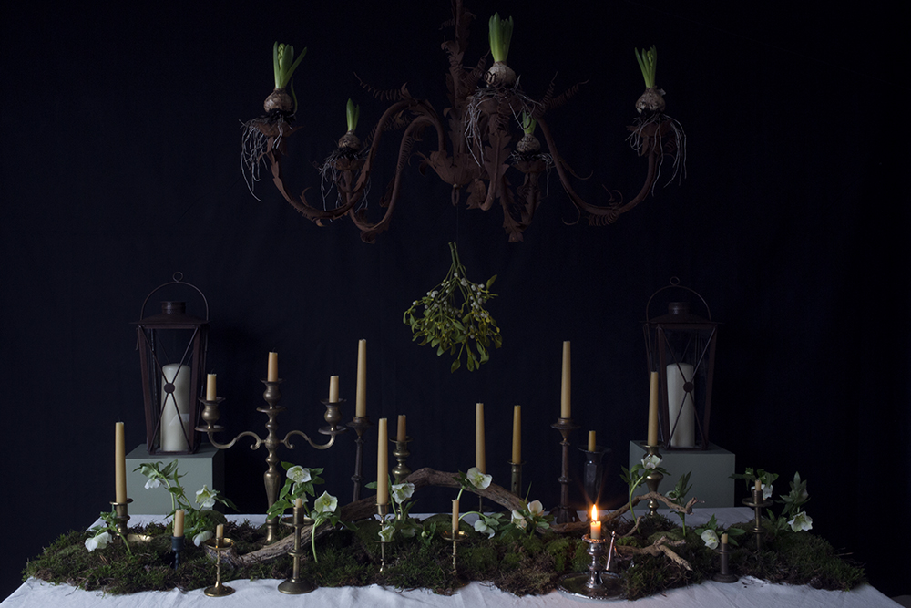 AESME blog | mistletoe table styling