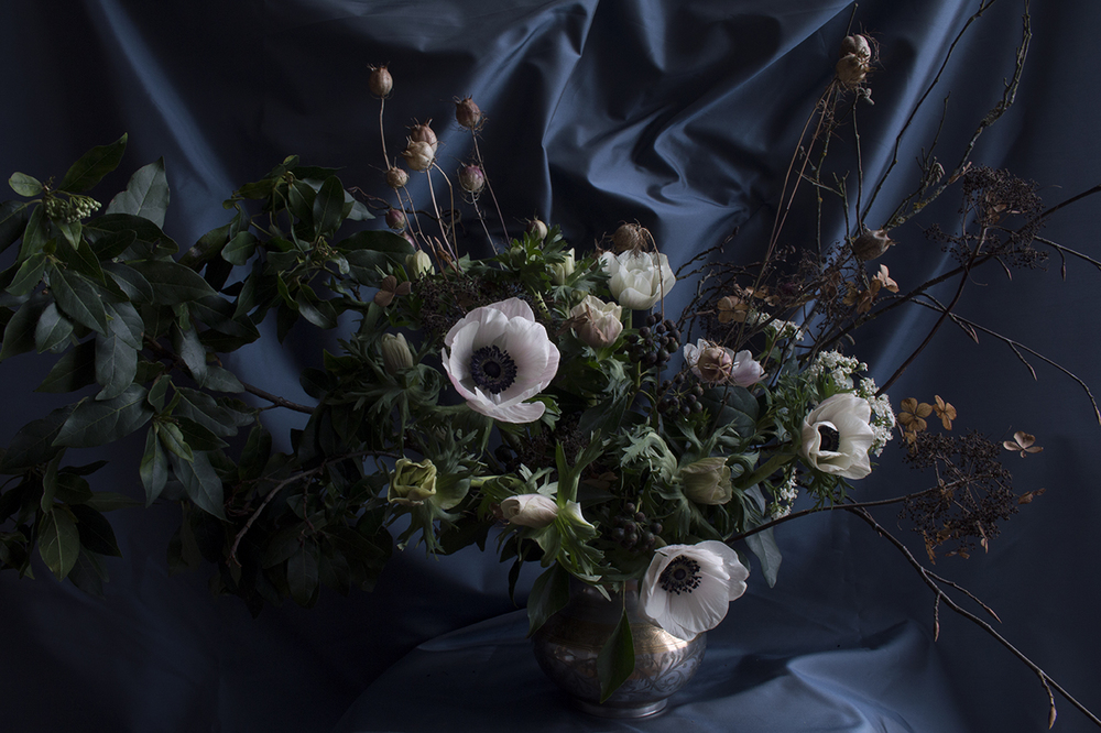 AESME floral arrangement with anemones