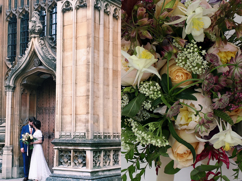 AESME blog | bodleian wedding