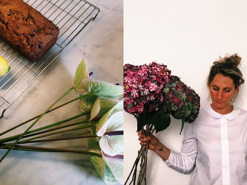 AESME blog | baking and flowers