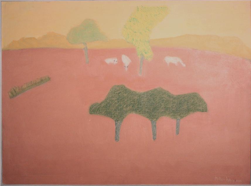 Milton Avery, Pink Pasture (1954)