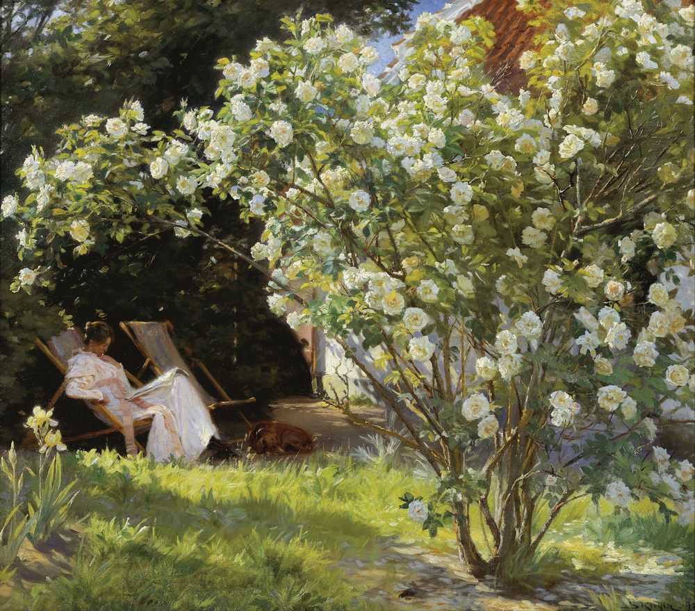 P.S. Krøyer Roses (1893)