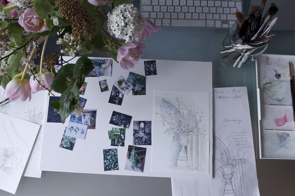 AESME blog | spring wedding concept board.jpg