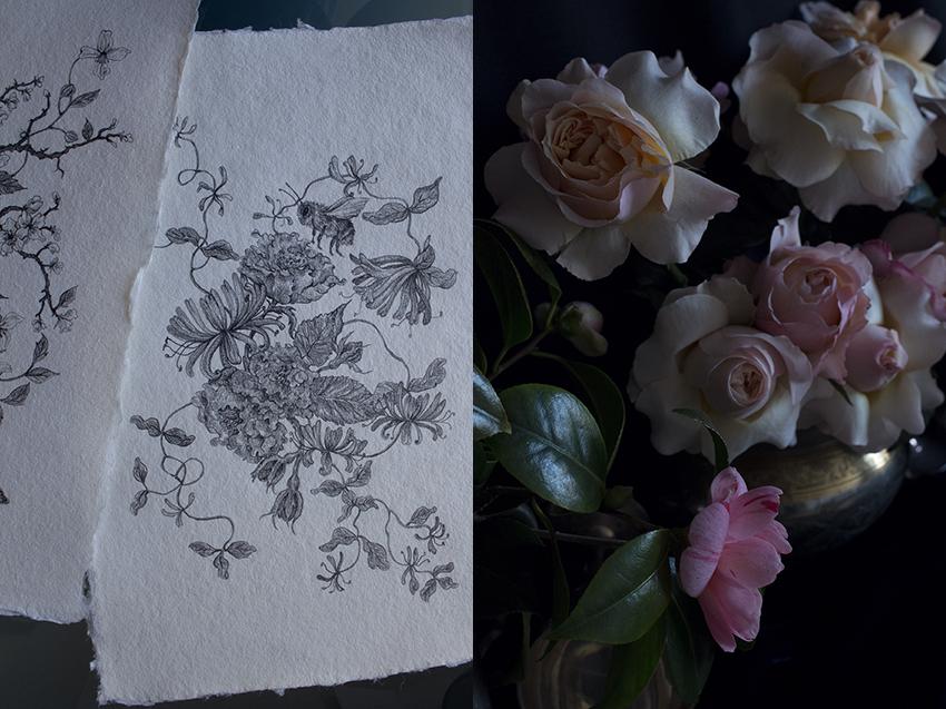 AESME blog | drawings on deckle edge paper.jpg