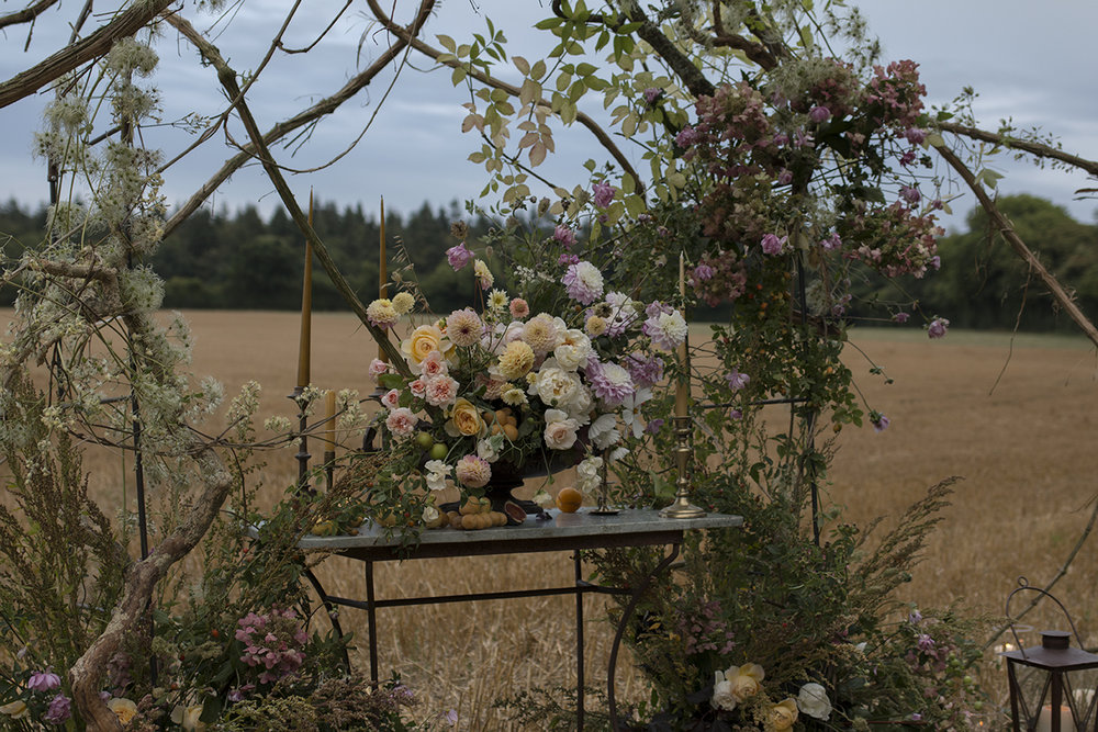 Autumnal wedding arch | Aesme Flowers.jpg