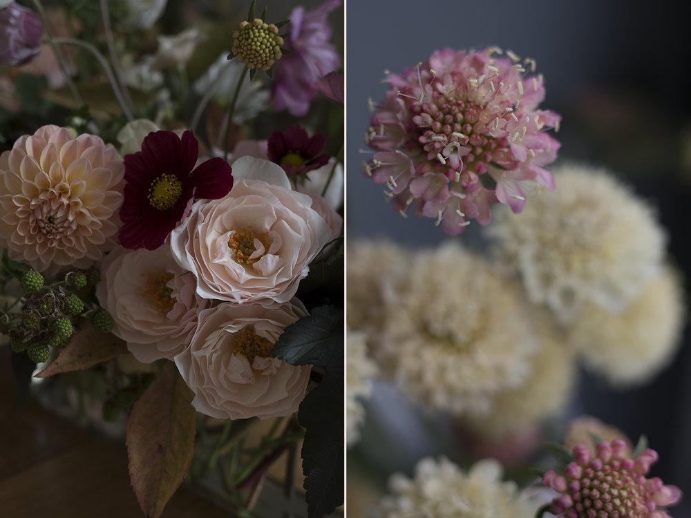 Autumn wedding colours | Photo by Aesme Flowers