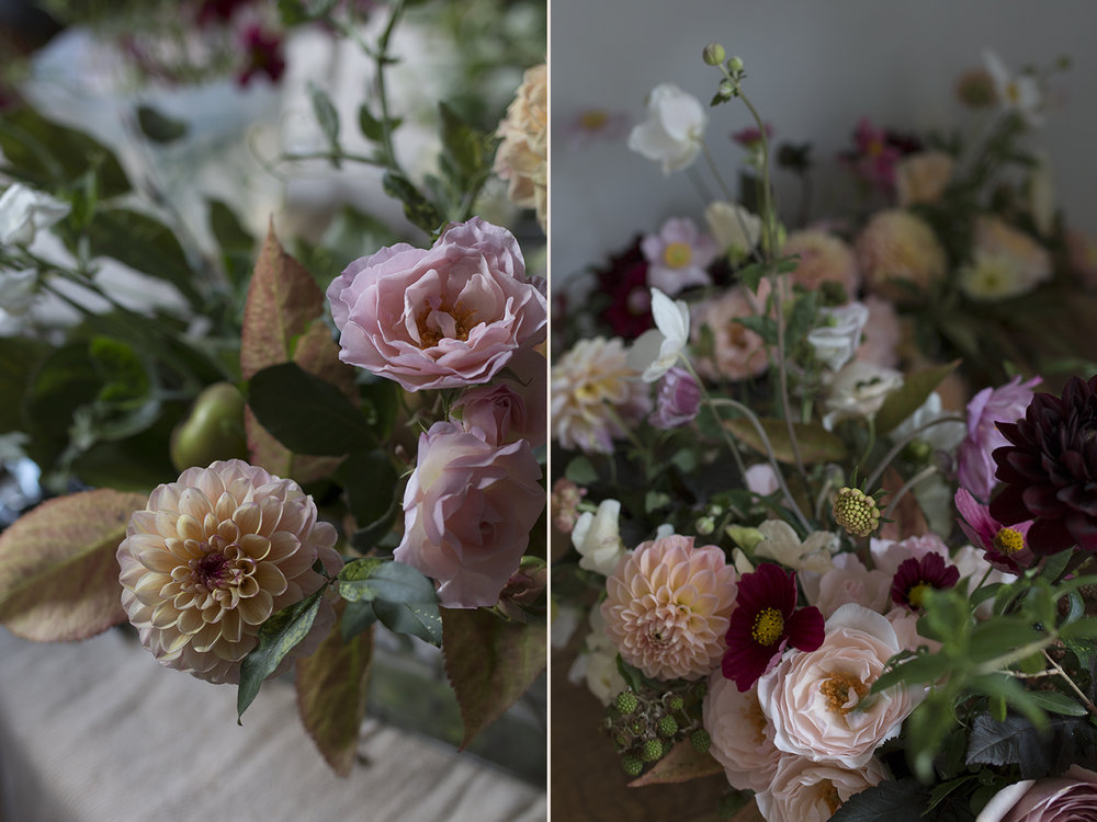 Autumnal wedding flowers | Photo by Aesme Flowers
