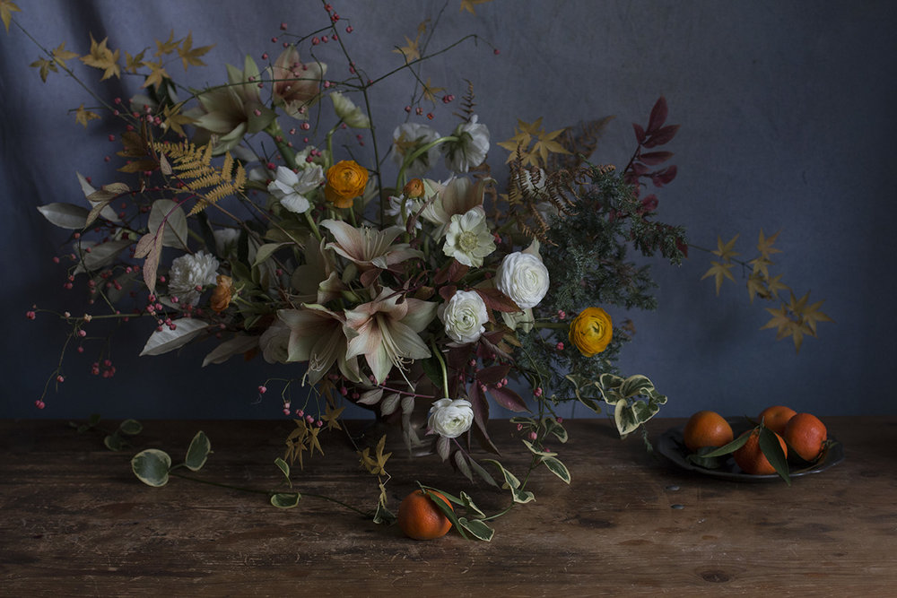 Violet & The Vicarage November 2016 | Photo Aesme Flowers
