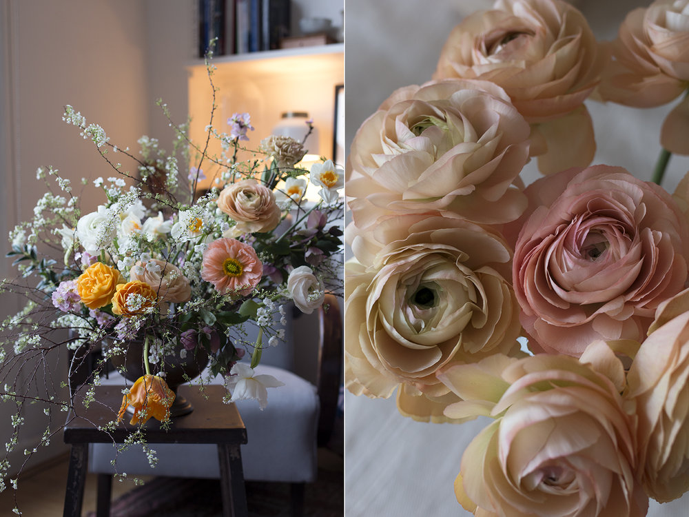 Spring arrangements | Aesme Flowers London