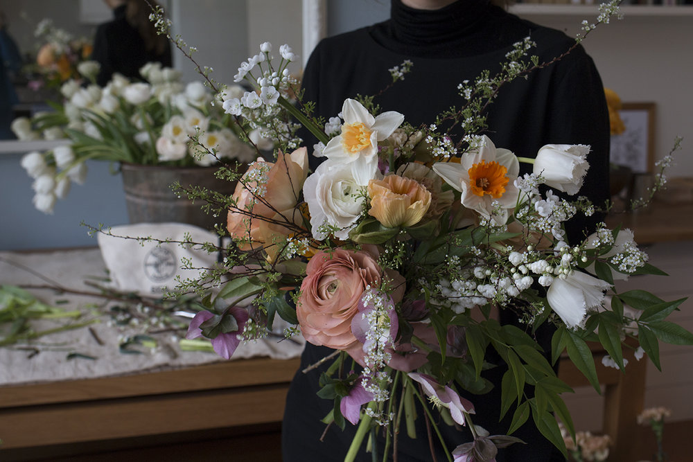 Floral design class | Aesme Flowers London