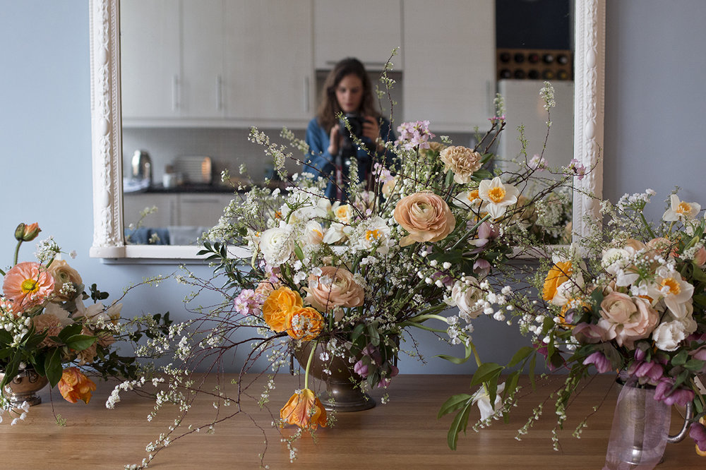 1-2-1 floral design class | Aesme Flowers London