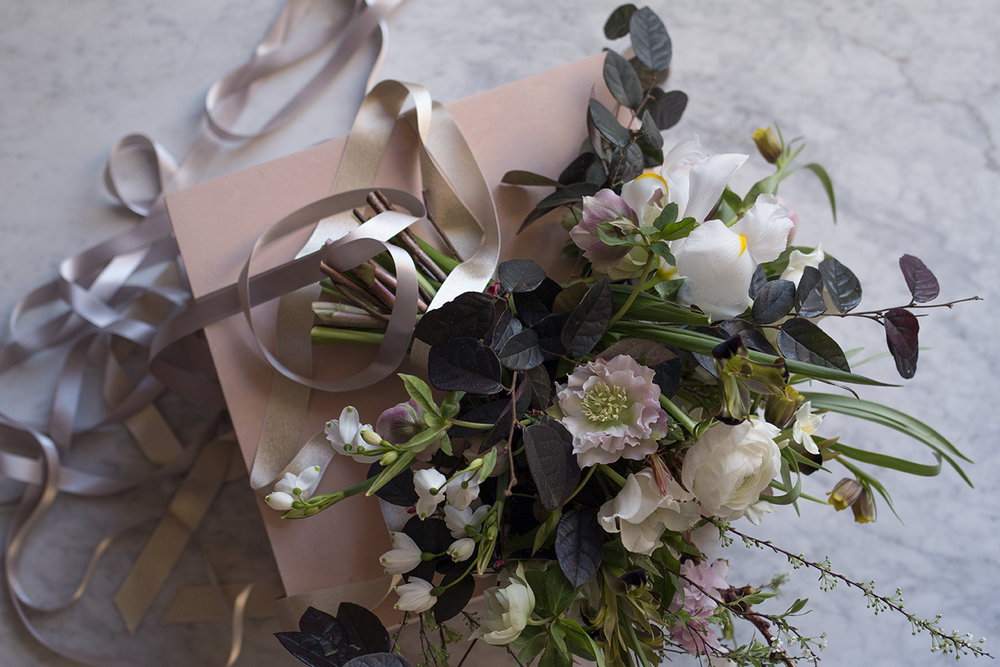 Spring bridal bouquet | Aesme Flowers London
