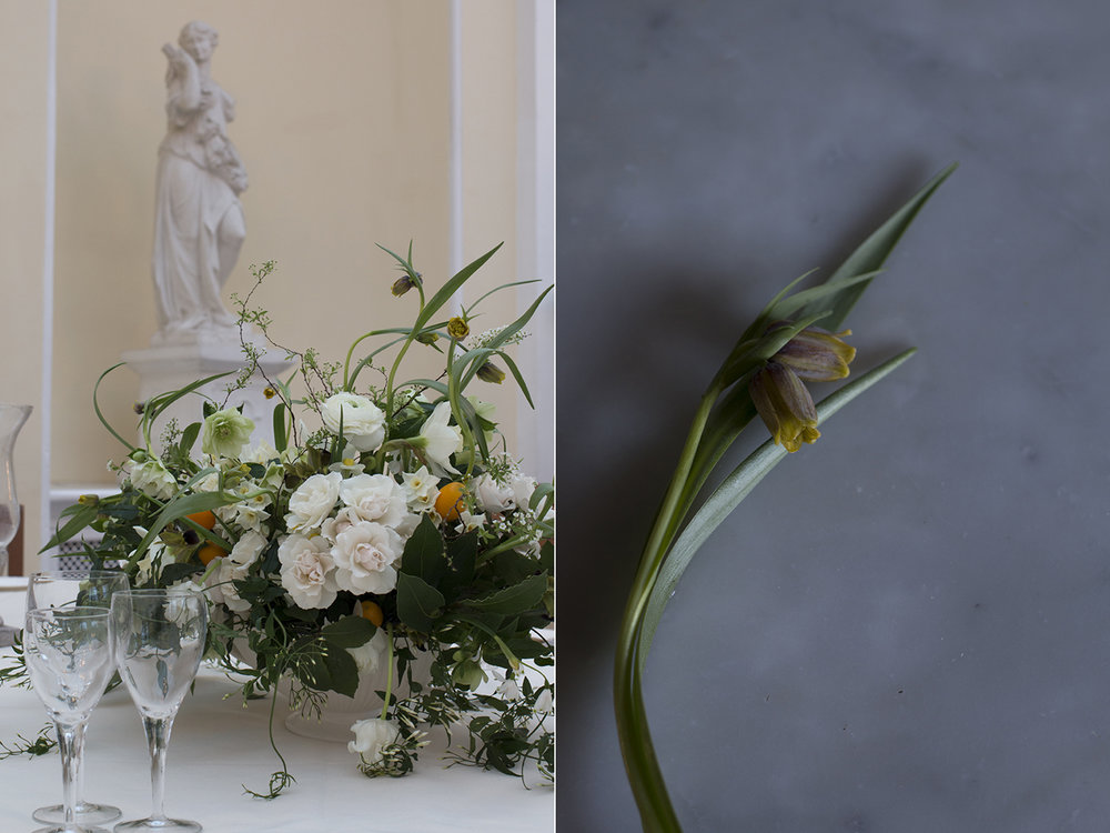Spring wedding flowers at Blenheim Palace | Aesme Flowers London