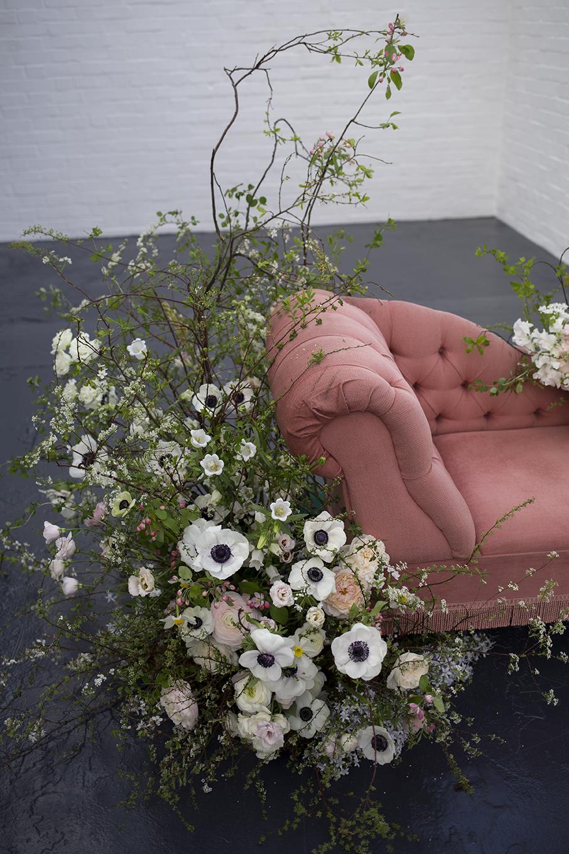 Heart Aflutter Bridal LookBook shoot | Aesme Flowers London