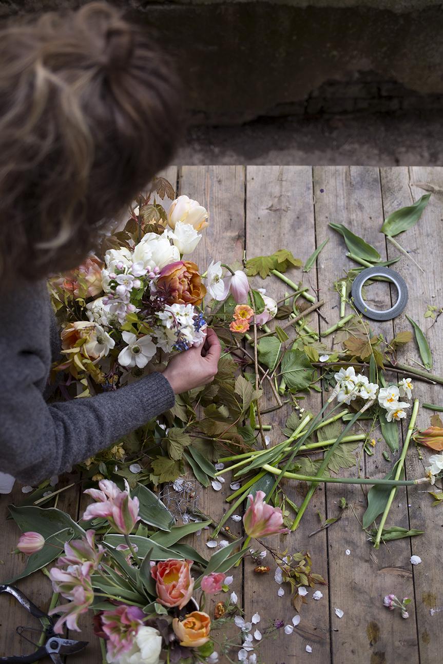 Flower arranging classes | Aesme Flowers London