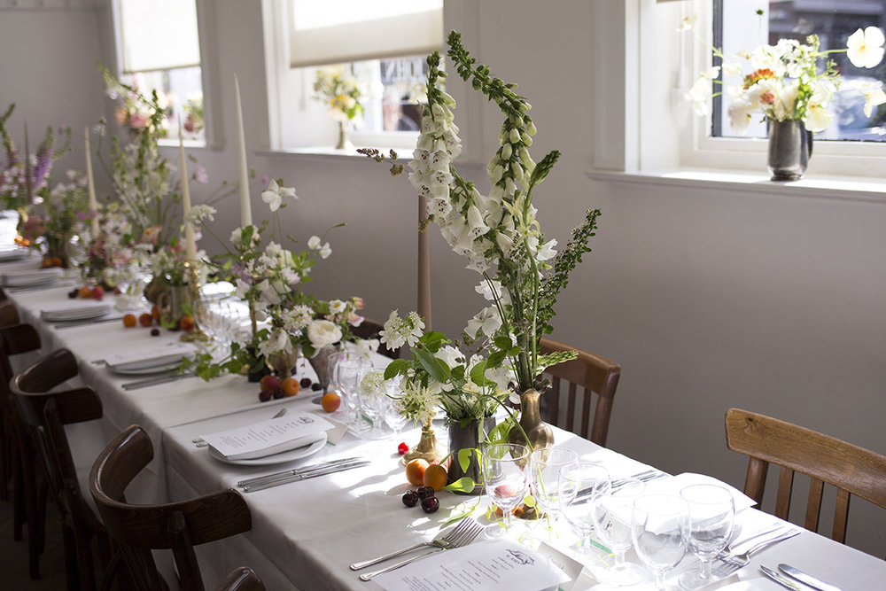 St John Bread + Wine Wedding Flowers | Aesme Flowers London