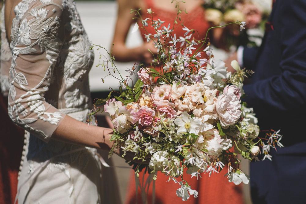 Early June bridal bouquet Aesme Flowers London | Photo credit Rik Pennington