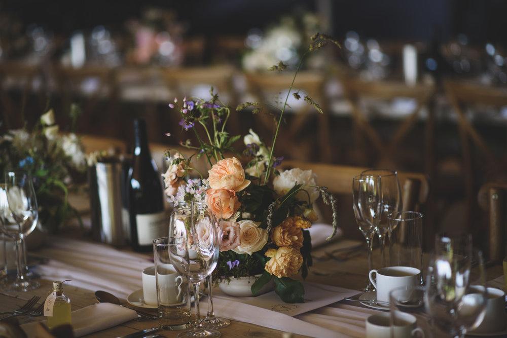 Summer wedding arrangements Aesme Flowers London | Photo credit  Rik Pennington