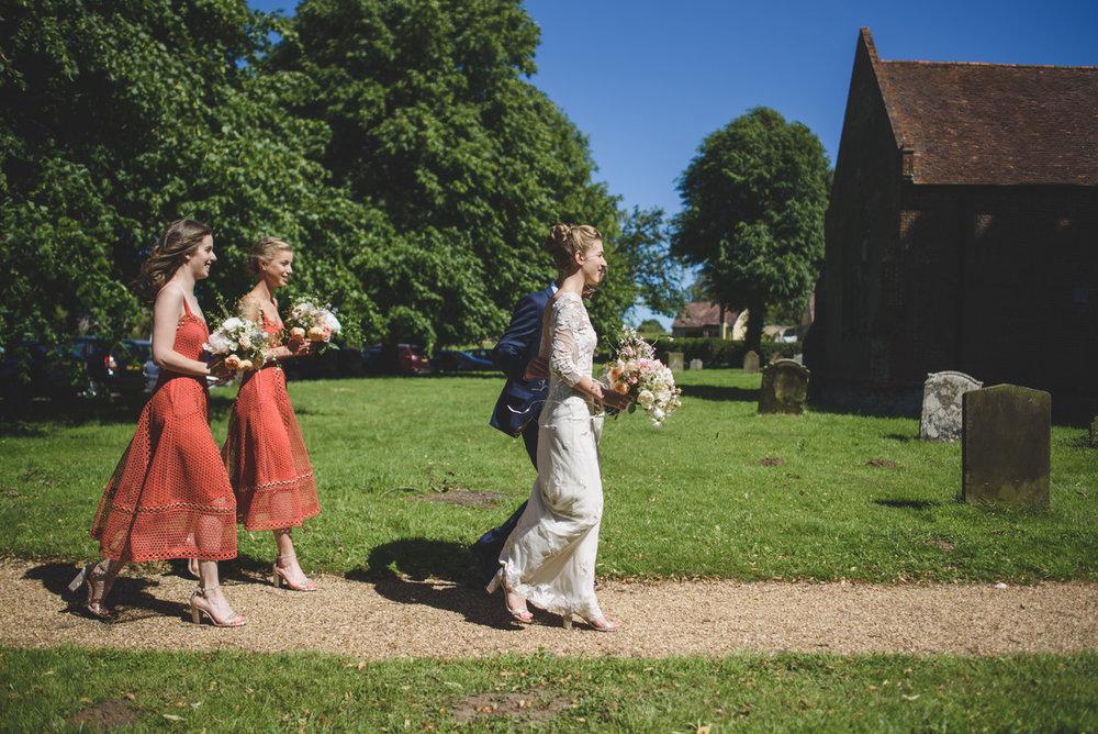 Wedding bouquets Aesme Flowers London | Photo credit Rik Pennington