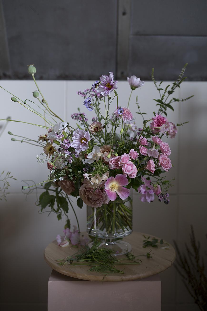 Floristry class London Aesme Flowers London