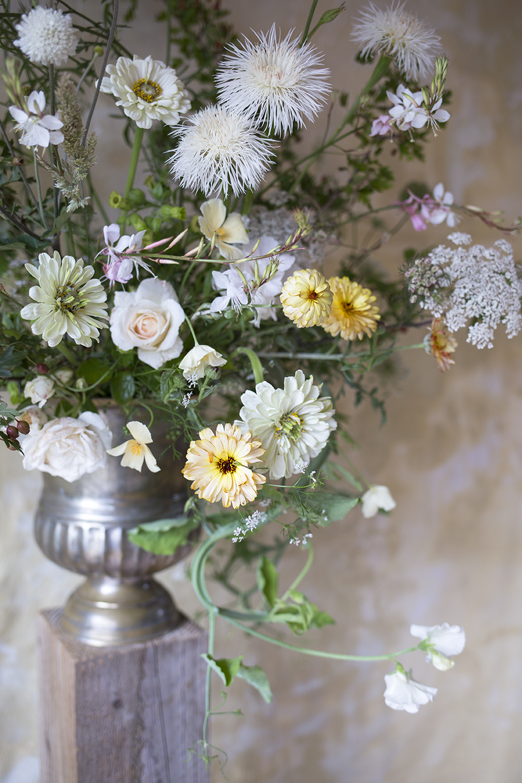 Floral Urn Arrangement Aesme Flowers London