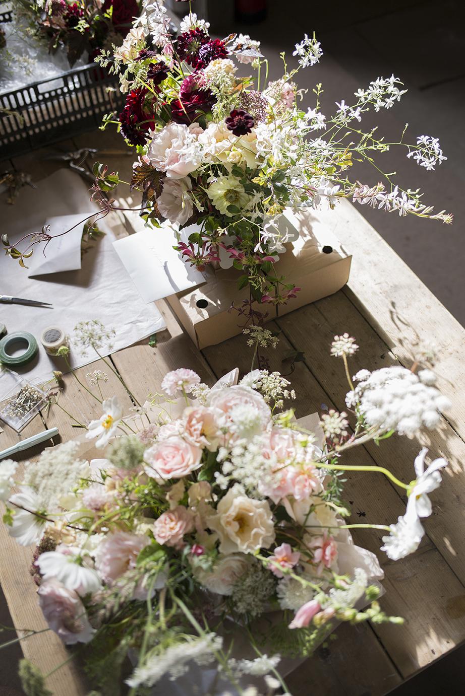 Floristry bouquet class Aesme Flowers London