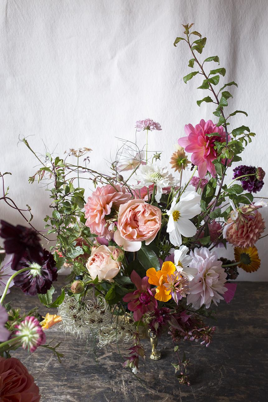 Floral Design Class Aesme Flowers London