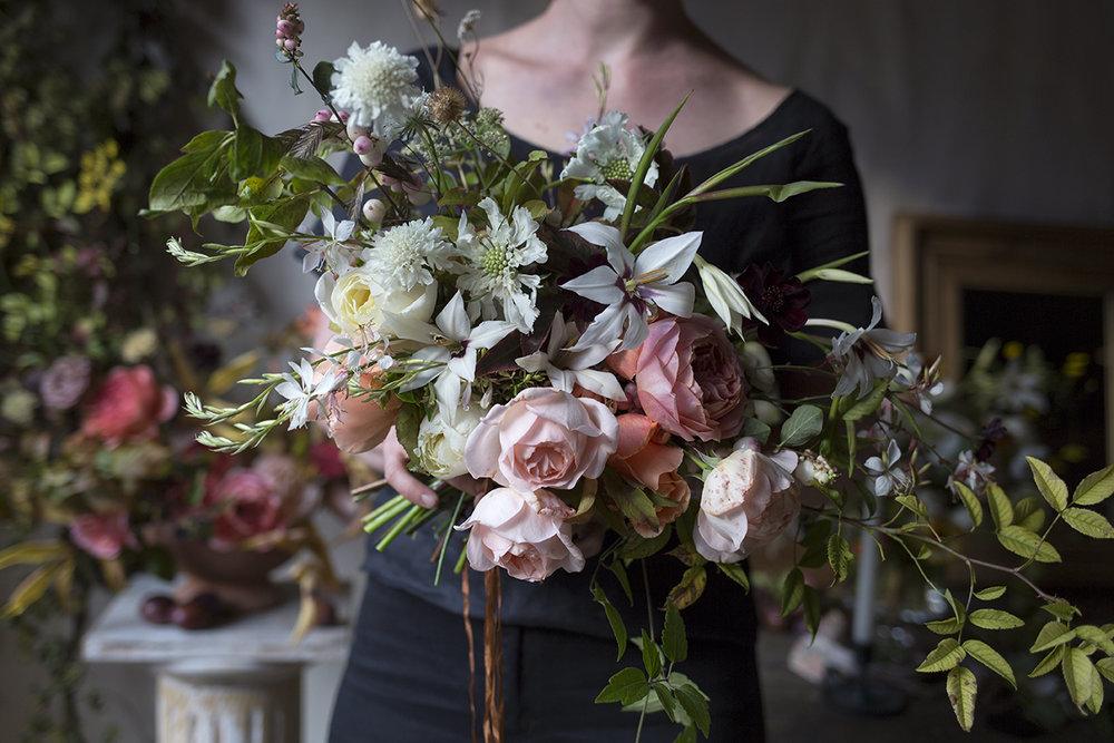 Bridal Bouquet Class Aesme Flowers London