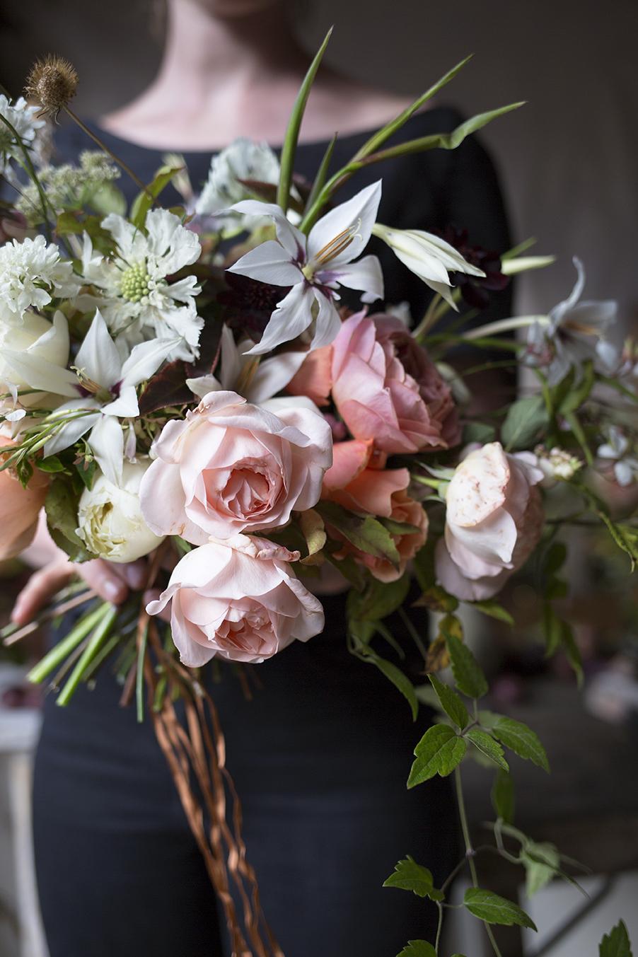 Bridal Bouquet Workshop Aesme Flowers London