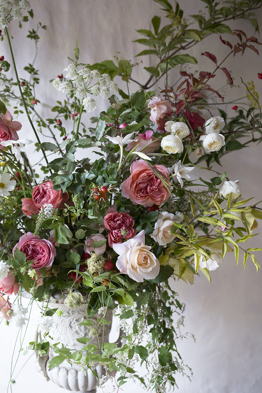 Wedding Urn Arrangement Aesme Flowers London