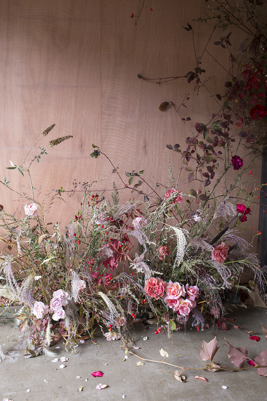 Floral Installation Class Aesme Flowers London