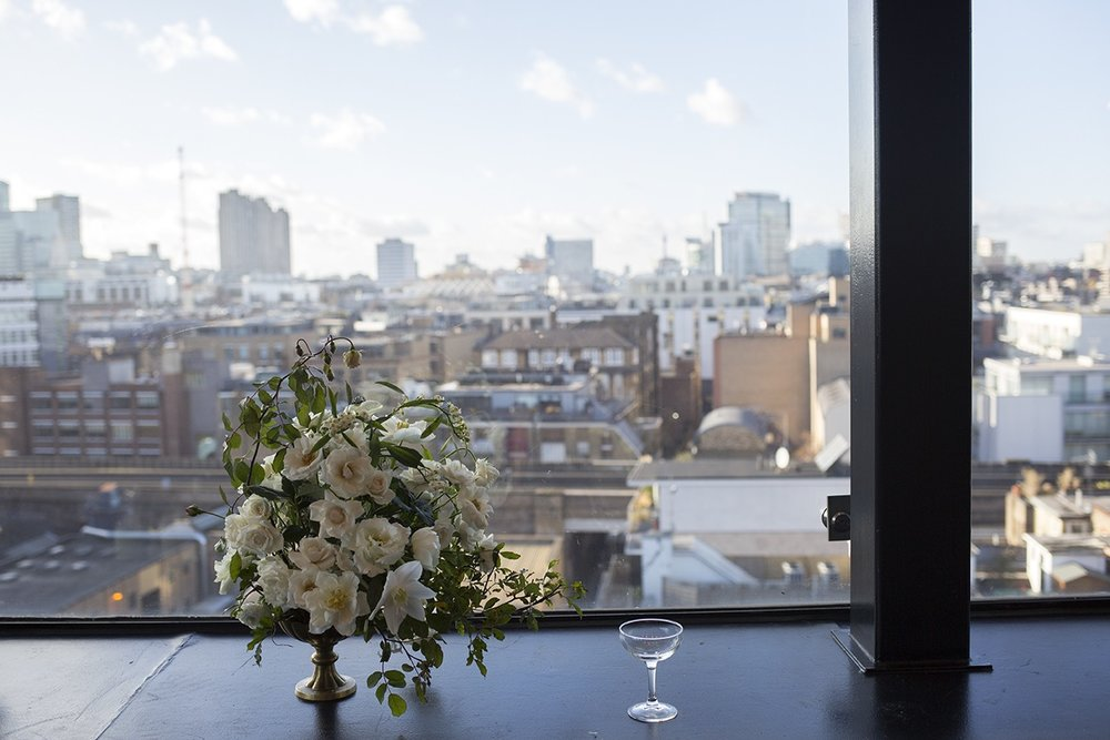 Aesme Flowers London | Wedding Flowers Ace Hotel Shoreditch
