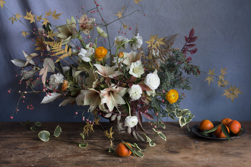 F L O R A L   S T Y L I N G  - Seasonal displays and arrangements