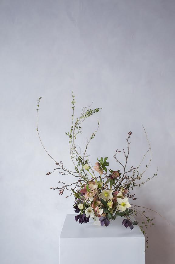 Aesme Flowers London | Spring Centrepiece