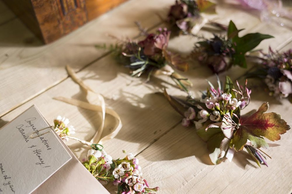 Aesme Flowers London | Bridal Party Accessories
